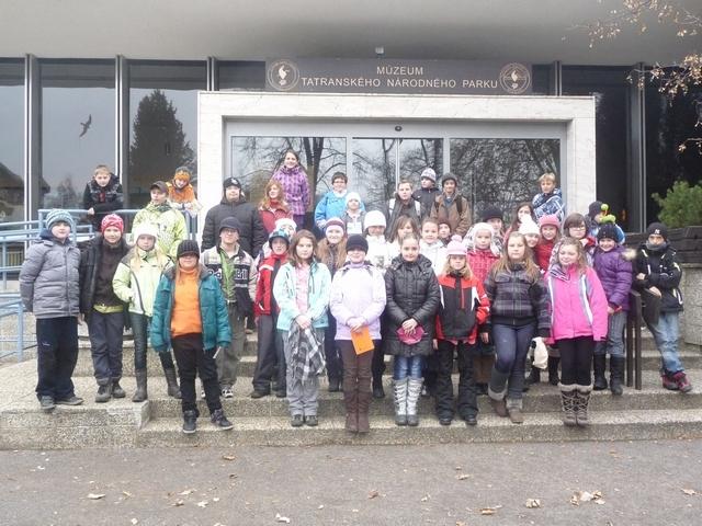 Prvý decembrový deň sme sa zúčastnili exkurzie do múzea tanap- u